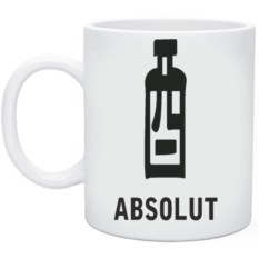 Кружка Absolut