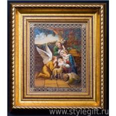 Панно-гравюра Рождество Христово
