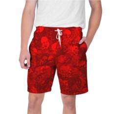 Мужские шорты Красные черепа