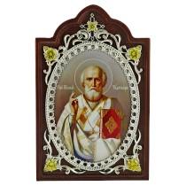 Икона с образом Святителя Николая