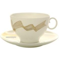 Чайный сервиз Платиновые бантики