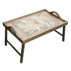Столик с ручками для завтрака в постель Цитрусовый рай