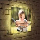 Дизайнерские 3D светильники с Вашими детскими фотографиями