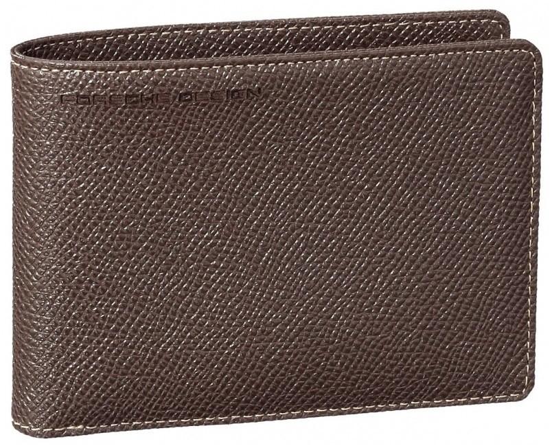 Бумажник Porshe Design BillFold Н2, коричневый