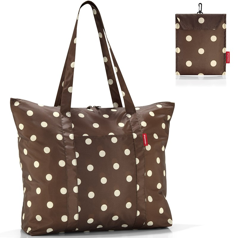 Cкладная сумка Mini maxi travel mocha dots