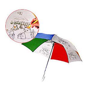 Детский зонт-раскраска