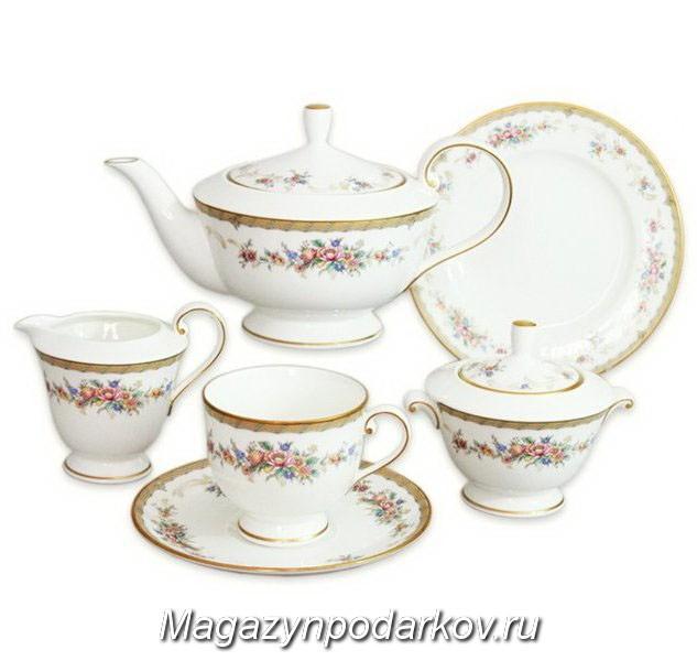 Чайный сервиз на 12 персон Narumi Наслаждение