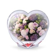 Сувенир-сердце Цветы