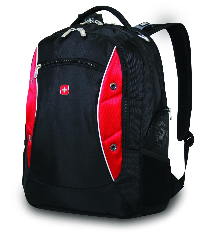 Рюкзак Wenger, черно-красный