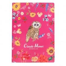 Тетрадь Claude Monet pink