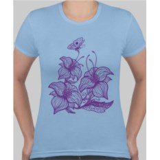 Женская футболка Лилии