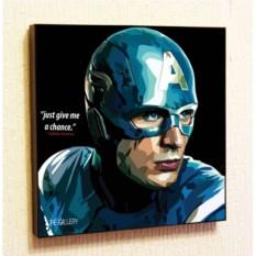 Картина в стиле поп-арт Капитан Америка