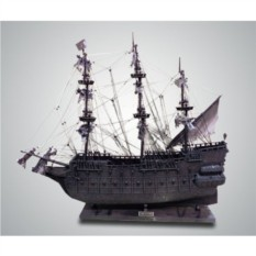Модель парусного корабля Летучий Голландец