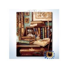 Картины по номерам «Старинный кабинет»