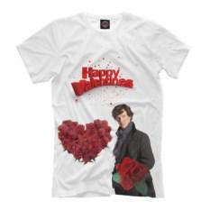 Мужская футболка От Шерлока с любовью