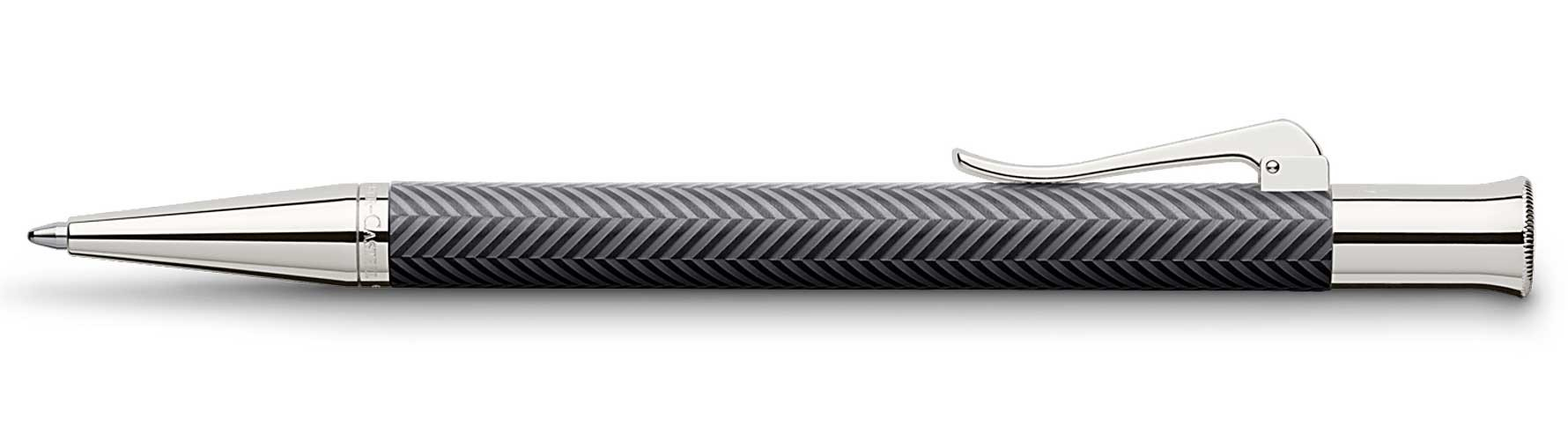 Шариковая ручка Faber-Castell Guilloche Cisele Anthracite