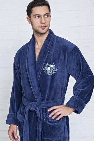 Мужской махровый халат из бамбука Five Wien
