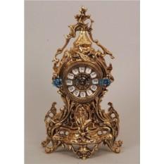 Часы из бронзы Коста-Дорада, цвет золотой
