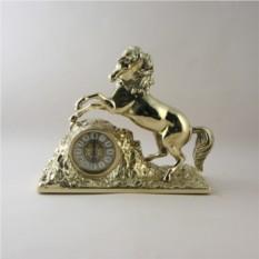 Каминные часы Золотая лошадь