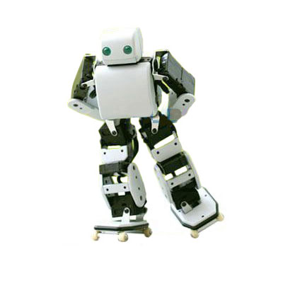 Настольный роликовый робот