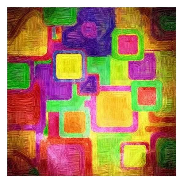 Картина Цветные квадраты