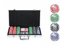 Набор для покера 300 фишек Street
