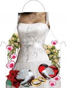 Фартук с необычным дизайном Невеста