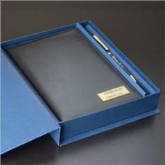Набор ручка Pierre Cardin + ежедневник с гравировкой Sigma