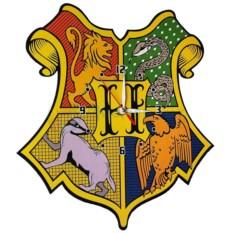 Настенные часы Хогвартс герб