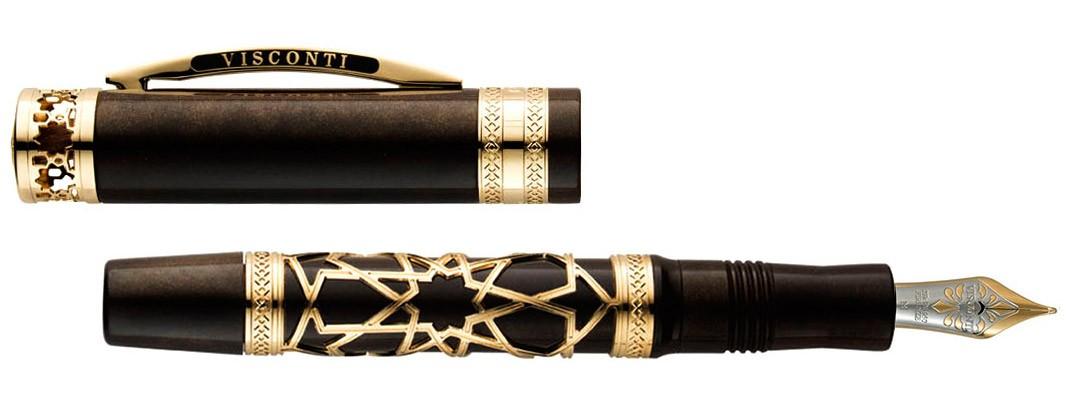 Перьевая ручка Visconti Extase d'Oud Vermeil