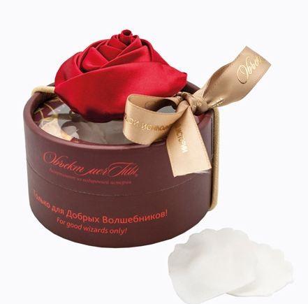 Мыло для эстетов Розовое волшебство (красное на белом)