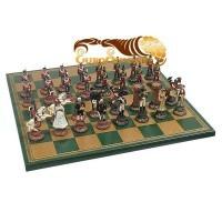 Шахматы Битва при Ватерлоо в подарочном футляре