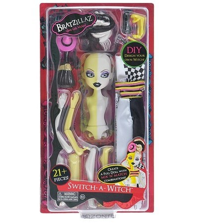 Кукла Bratzillaz Малинка. Твоя фантазия