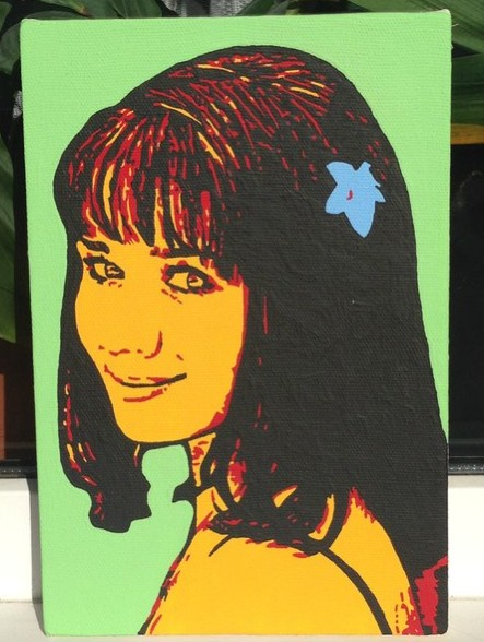 Поп-арт портрет 20х30 см