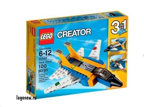 Конструктор Реактивный самолет Lego