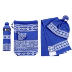 Синий новогодний набор Скандик