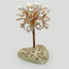 Дерево из жемчуга с именной надписью