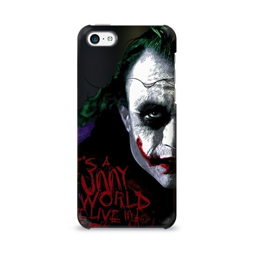 Чехол для Apple iPhone 5С 3D Джокер