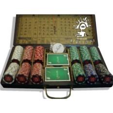 Набор для покера 300 фишек Lucky wood Lite