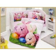 Детский комплект в кровать с бортиками V3