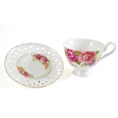 Чайный набор Фантазия из чашки и блюдца