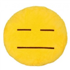 Подушка Emoji Не смотрю - не говорю