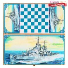 Нарды и шашки Военный крейсер