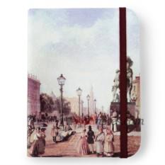 Флорентийская записная книжка «Вид Невского проспекта