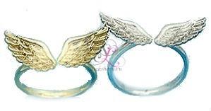 Парные кольца Два крыла