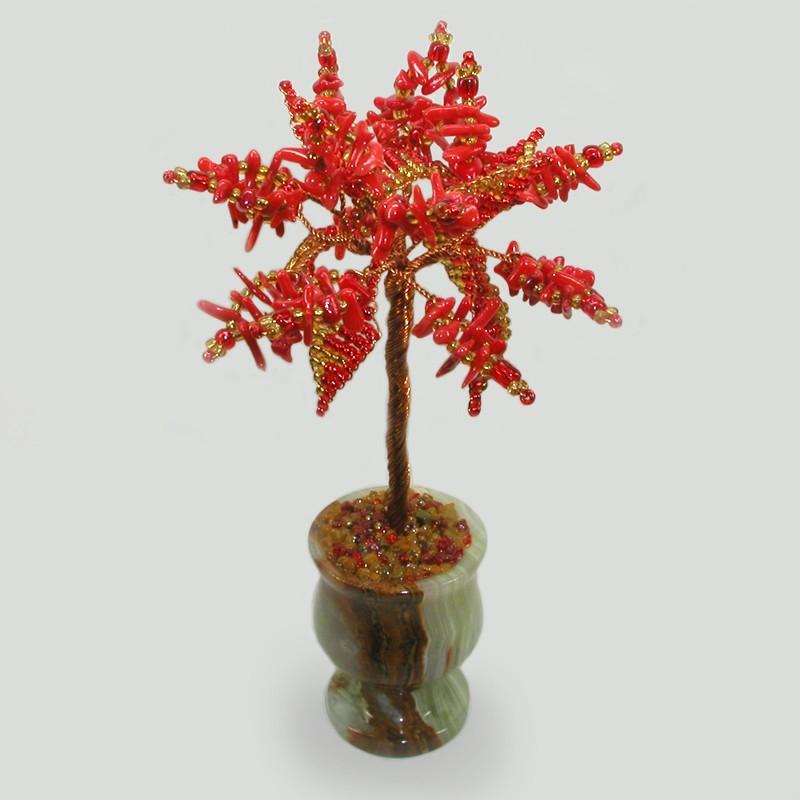 Миниатюрное дерево из коралла Любовное