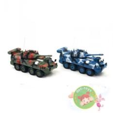 Радиоуправляемый бой танков БТР