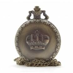 Карманные часы на цепочке Корона