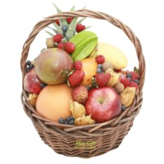 Корзина с фруктами Tutti Frutti Platinum