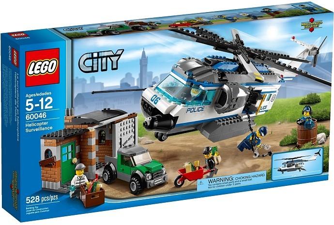 Конструктор LEGO CITY Вертолётный патруль
